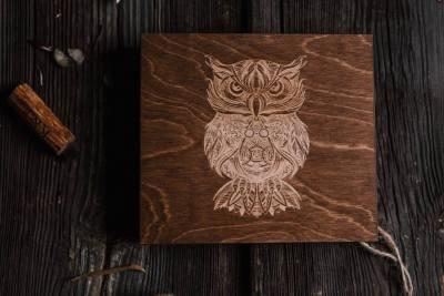 custom wood boxes cd/dvd