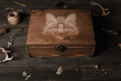photography wooden boxes 15x23cm USB wood
