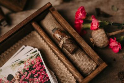 photography wooden boxes 15x23 cm