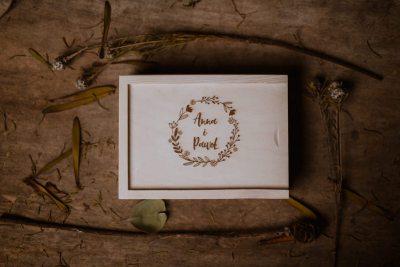 engraving wooden box 10x15