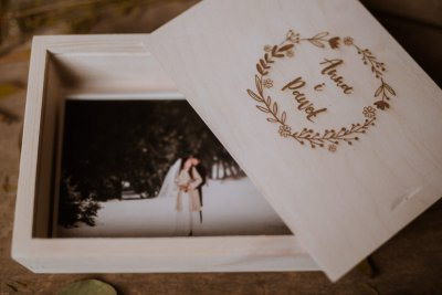 wooden boxes for photographers 10x15