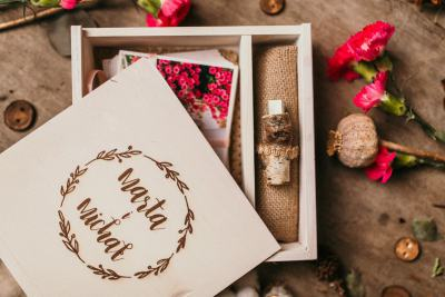 keepsake wooden box
