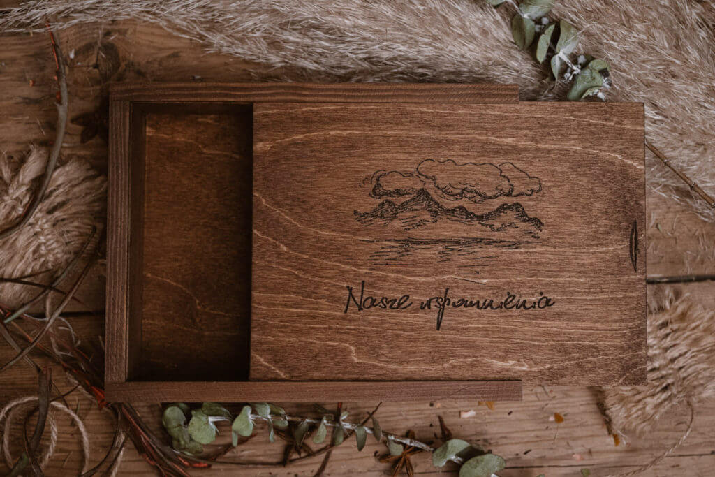 wedding boxes for photography