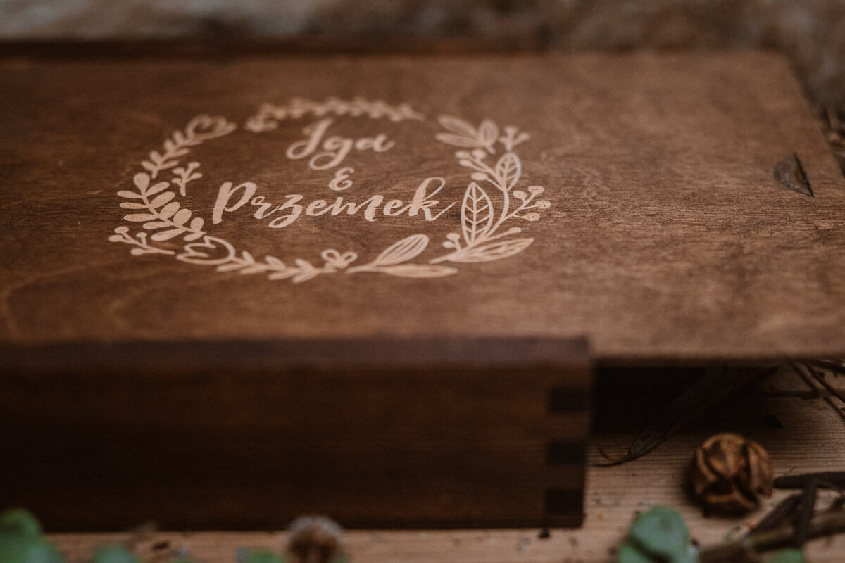 wedding photos box