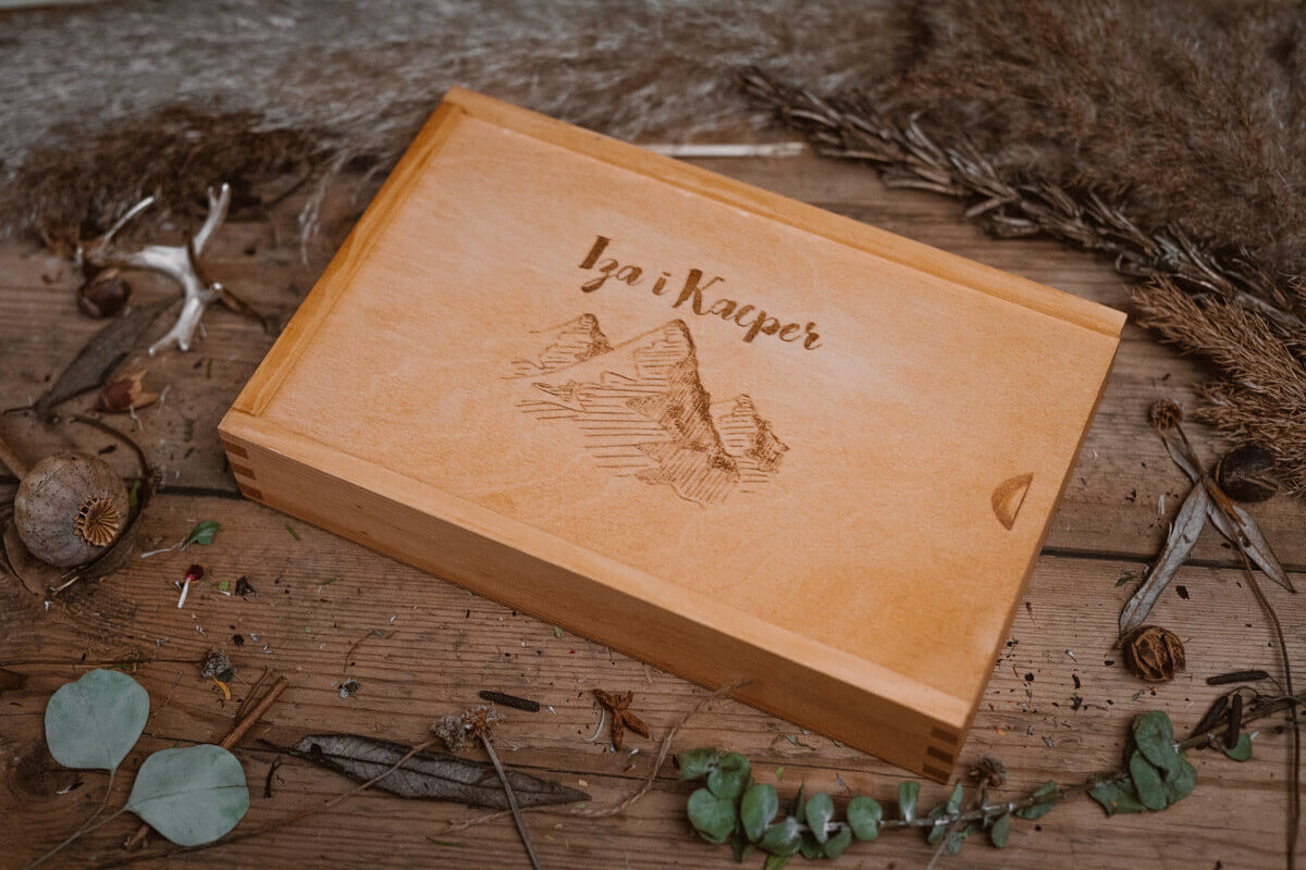 engraved photo box for photographers
