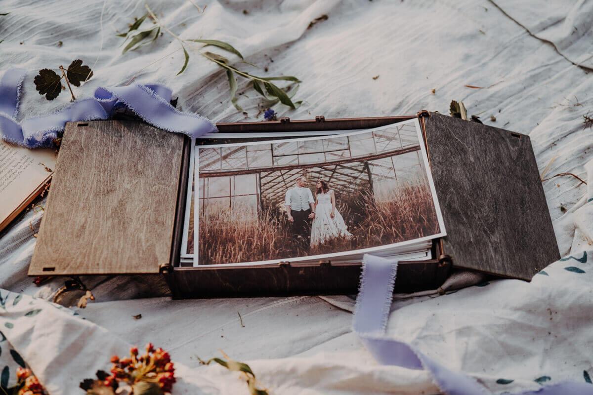 usb wood box