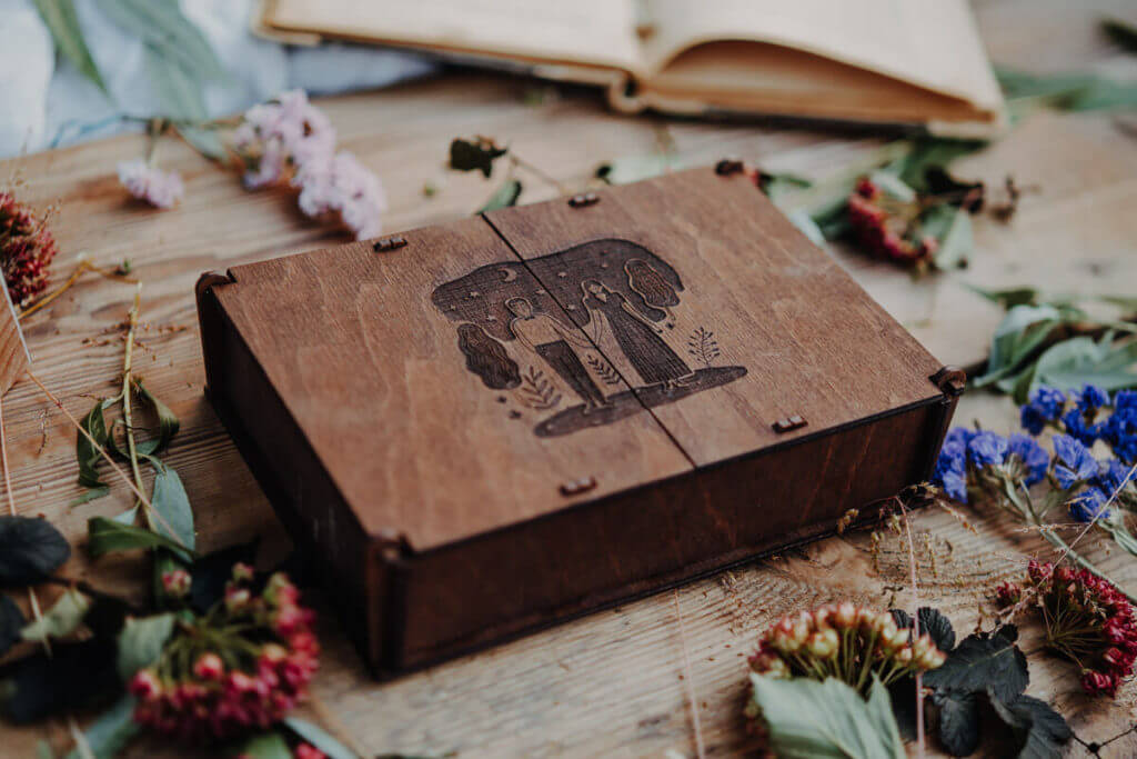 decorative wooden boxes